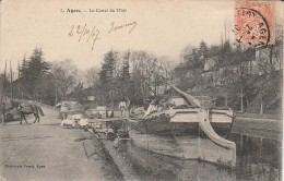 47 - AGEN - Le Canal Du Midi - Agen