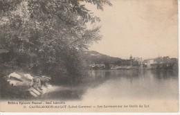 47 - CASTELMORON SUR LOT - Les Laveuses Sur Les Bords Du Lot - Castelmoron