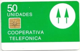 Argentina - Telkor - Cooperativa Telefonica - Gemplus Trial - 2 Pines Green - Argentinien