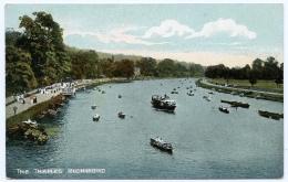 LONDON : RICHMOND - THE THAMES - London Suburbs