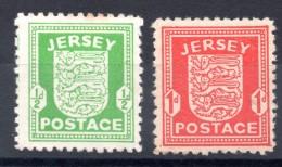 JERSEY - Occupation Allemande - 1940 - Neufs * - MH - Jersey