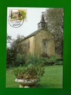 Luxemburg  1989 Mi.Nr. 1234 , Chapelle Saint-Antoine I´Ermite - Maximum Card - Sonder Stempel  Reisdorf 11.12.89 - Maximum Cards