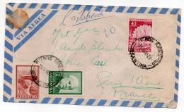 Argentine--1965--Lettre Recommandée BUENOS-AIRES Pour PARIS-Composition De Timbres -cachet - Argentine