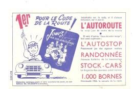 Buvard Jeu Jouez! Aux Jeux De Notre Temps 1er Pour Le Code De La Route! L'autoroute, ... - Kids