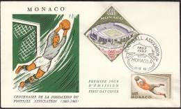 Monaco 1963 / Football, Soccer / 100 Years Of The Football Association - Calcio