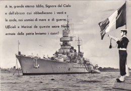 NAVE DA BATTAGLIA ITALIANA - Guerra