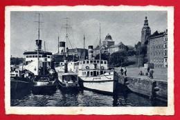 Pologne. Stettin ( Szczecin). Abfahrtstelle Der Rügendampfer. Waly Chrobrego. 1941 - Pologne