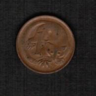 AUSTRALIA   1 CENT 1969 (KM # 62) - Decimal Coinage (1966-...)