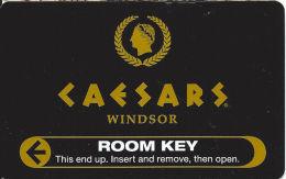 Caesars Windsor Casino Canada - Room Key Card - Hotel Keycards