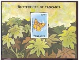 TANZANIA SHEET BUTTERFLIES OF TANZANIA INSECTS PAPILLONS DU TANZANIE INSECTES MARIPOSAS INSECTOS - Vlinders