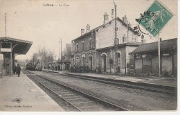 47 - LIBOS - La Gare - Libos