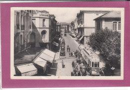 74.- ANNEMASSE .- Rue De La Gare  ( Crédit Lyonnais , Tram ) - Annemasse
