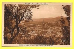 CPA 04 Digne Les Bains - Vue Generale Prise De Pic-Cocu ☼ Prix Net - Digne
