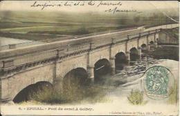 CPA Colorisée De EPINAL - Pont Du Canal à Golbey (Galeries Réunis De L´Est, édit.). - Epinal
