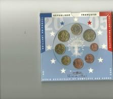 REPUBLIQUE FRANCAISE - BRILLANT UNIVERSEL - 2005 - 8 PIECES - Frankreich