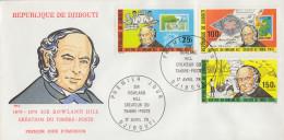 Enveloppe  FDC  1er  Jour   DJIBOUTI    Sir   Rowland  HILL    1979 - Rowland Hill