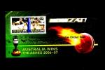 AUSTRALIA - 2007 AUSTRALIA WINS THE ASHES MS OVERPRINTED APTA CONGRATULATES MINT NH - Blocchi & Foglietti