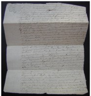 1787 Noirétable (Loire) ,contre Guillaume  Bertrand - Manoscritti
