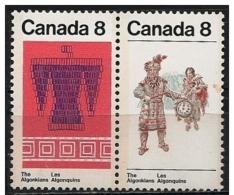 Canada: Indiani Algonquin, Indiens Algonquins, Algonquin Indians - American Indians