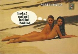 MALLORCA    Pin-up  Seins Nus Seno Nudo - Pin-Ups