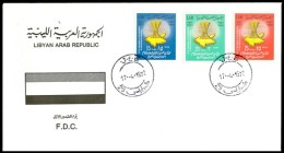 LIBYA - 1972 Arab Republics (FDC) - Libya