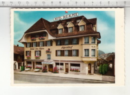 Spiez - Hôtel Des Alpes / Alpenhof - Hoteles & Restaurantes