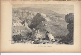 La Fontaine De Vaucluse   1892 - Prints & Engravings