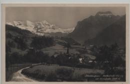 Reichenbach Lötschbergbahn Mit Blüemlisalp - BE Bern