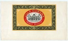 Cigar Box Label - VILLA CUBANA  (635) - Etiketten