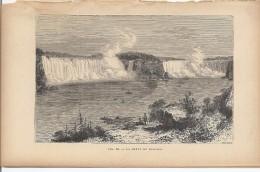 La Chute Du Niagara 1892 - Prints & Engravings