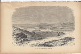 Le Désert Du Sahara 1892 - Prints & Engravings