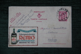 MECHELEN - Carte Postale Publicitaire Likeurstokern REMO - Malines