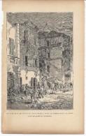 Fouilles Dans Les Ruines De Diano Marina Après Tremblement De Terre 1892 - Prints & Engravings