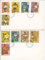 474 Olympiques 1968 Mexico City Olympic Burundi FDC Imperforated Set - Ete 1968: Mexico