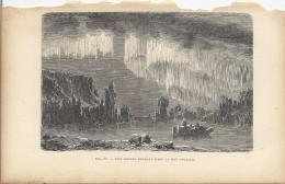 Une Aurore Boréale Dans La Mer Polaire  1892 - Prints & Engravings