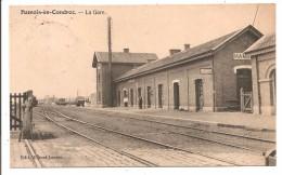 Belgique - HAMOIS En CONDROZ - La Gare - Hamois