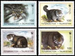 (WWF-198) W.W.F. Tadjikistan / Tajikistan Cat MNH Stamps 1996 - Unused Stamps