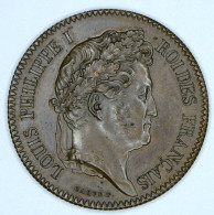 "France ~ 1900 "" LOUIS  PHILIPPE  I  "" ROY  DE  FRANCE "" Médaille / Medallion - France"