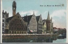 Gand   -   La Maison Des Bateliers. - Gent