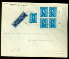 NEDERLANDS INDIE * LP * BRIEFOMSLAG Uit 1949 Van MAKASSAR Naar BENNEBROEK (10.450s) - Niederländisch-Indien