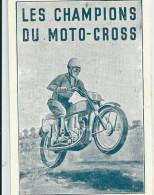 MOTO CROSS ILLUSTRATEUR MOTO CHAMPIONS - Sport Moto