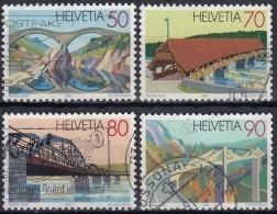 Suiza 1991 Nº 1378/81 Usado - Suiza
