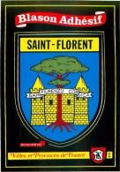 20.SAINT FLORENT.n°53.Blason Adhésif - Frankreich