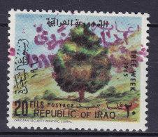 Iraq Irak 1965 Mi. 404    20 F Woche Des Baumes PURPLE Revolutionary PRIVATE Overprint MH* SCARCE !! - Irak