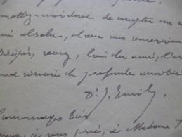 LAS 1917 Général Emilly Jules Né à Ulmetu Corse  Médecin. 2ème C.A.C. Guerre 14/18 A Propos De Sa Carrière - Documents