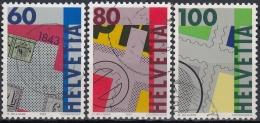 Suiza 1993 Nº 1424/26 Usado - Suiza