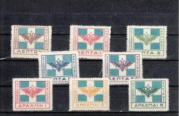 Epire YT 28/35 * : Armoiries - 1914 - North Epirus