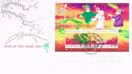 BR 682 CHRISTMAS ISLAND YVERT NR BLOK 23 ZIE SCAN - Christmas Island