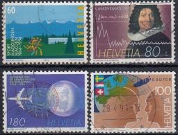 Suiza 1994 Nº 1445/48 Usado - Suiza