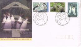 BR 684 AUSTRALIAN ANTARCTIC TERRITORY  YVERT NR 95/97 ZIE SCANS - Pingouins & Manchots